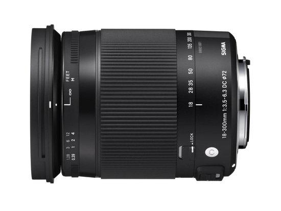 Sigma 18-300 mm f:3.5-6.3 DC MACRO OS HSM lens