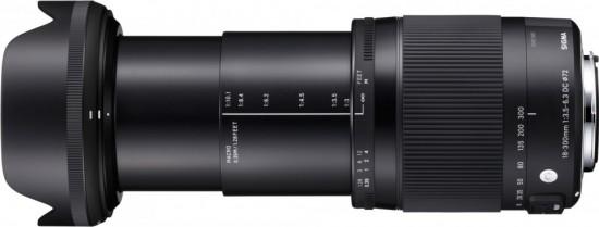 Sigma 18-300mm f:3.5-6.3 DC MACRO OS HSM lens