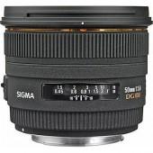 Sigma 50mm f:1.4 EX DG HSM lens