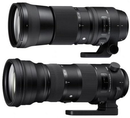 Two-version-of-the-Sigma-150-600mm-f5-6.3-DG-OS-HSM-lens