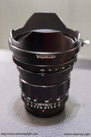 Voigtländer 10.5mm f:0.95 Nokton MFT lens