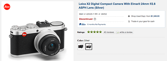 Leica-X2-camera-discontinued