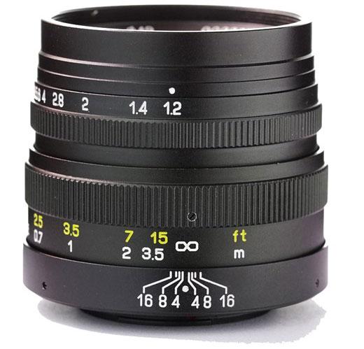 Mitakon-42.5mm-f1.2-lens