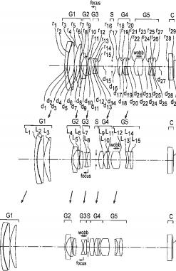 Olympus 14-150mm f:4.0-5.6 lens patent