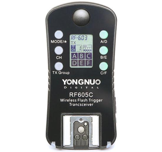 YongNuo-RF605-Transceiver