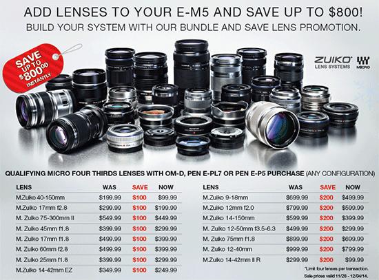 Olympus-lens-savings