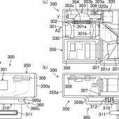 Panasonic hybrid EVF and OVF viewfinder patent