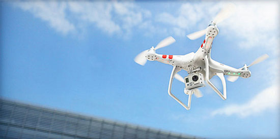 Phantom-Quadcopter-with-GoPro-mount-kit