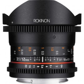 Rokinon 12mm T3.1 ED AS IF NCS UMC Cine DS fisheye lens 2