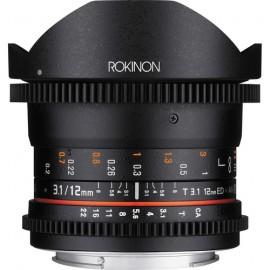 Rokinon 12mm T3.1 ED AS IF NCS UMC Cine DS fisheye lens 2