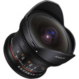 Rokinon 12mm T3.1 ED AS IF NCS UMC Cine DS fisheye lens