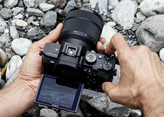 Sony-a7-II-LCD-screen