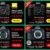 Nikon-Canon-DSLR-camera-price-drop