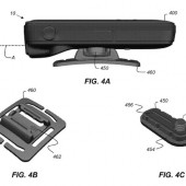Apple patent for action camera