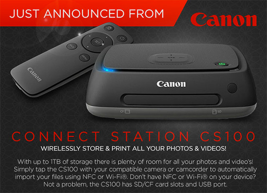 Canon @ 2015 CES: new printers, camcorders, PowerShot cameras and a ...