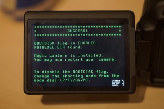 Canon blocked Magic Lantern on the 5D Mark III