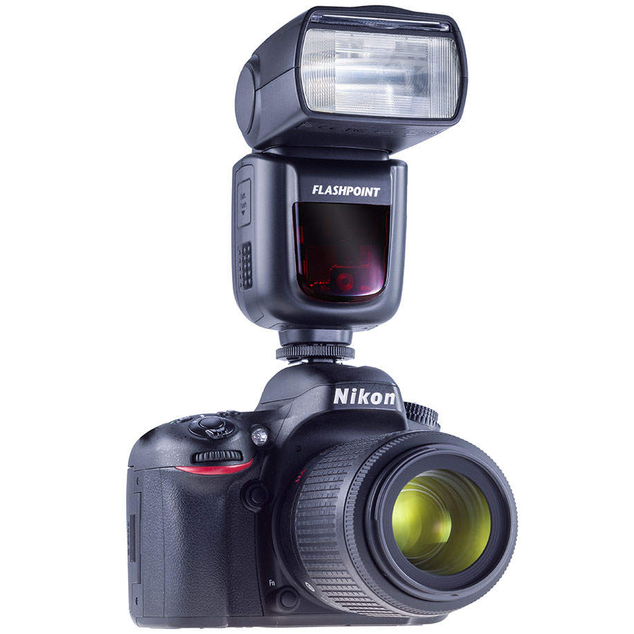 New flashpoint zoom li on on camera flash for nikon and for Camera and camera