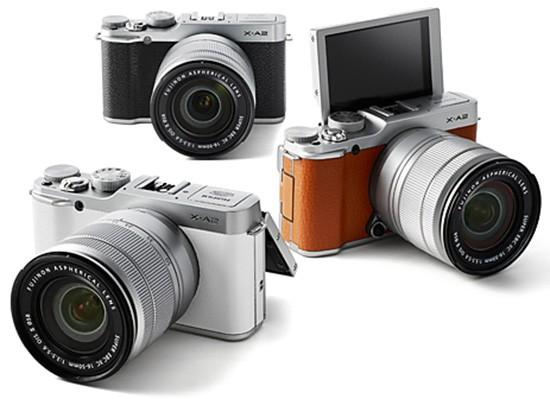 Fuji-X-A2-camera