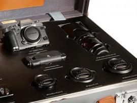 Fujifilm Globe-Trotter exclusive luxury mirrorless camera kit 2