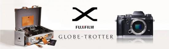 Fujifilm Globe-Trotter exclusive luxury mirrorless camera kit
