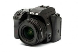 New Pentax products on display at CES