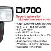 Nissin Di700 AIR flash