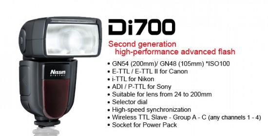 Nissin Di700 AIR flash