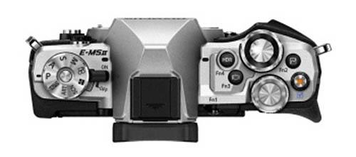 Olympus E-M5II camera top