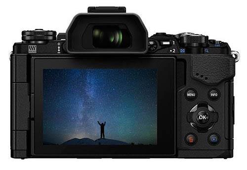 Olympus OM-D E-M5II camera 3