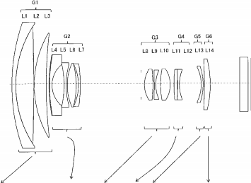 Tamron 10-100mm F3.5-5.6 DiIII lens patent