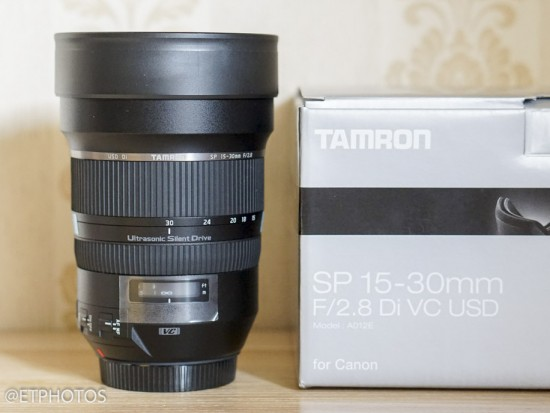 Tamron SP 15-30mm f-2.8 DI VC USD full frame lens3