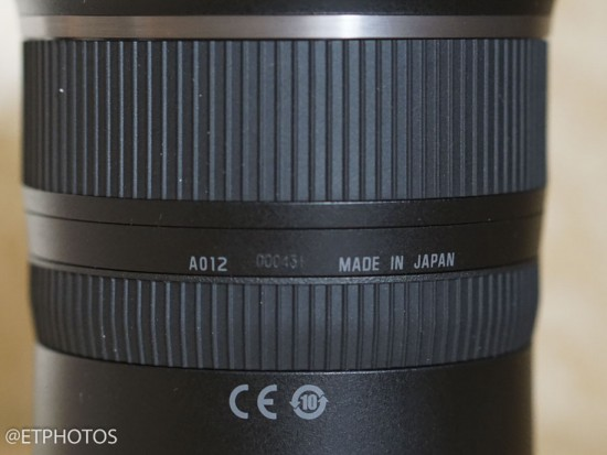 Tamron SP 15-30mm f-2.8 DI VC USD full frame lens6