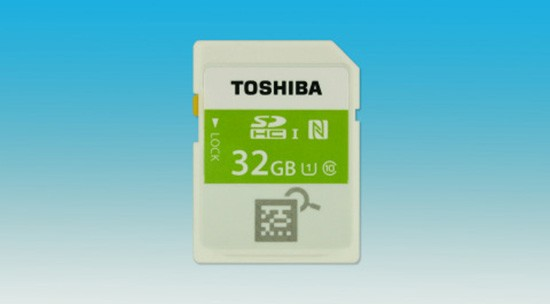 Toshiba-SDHC-memory-card-with-Built-in-NFC