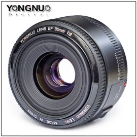 Yongnuo 35mm f:2 lens for Canon DSLR cameras