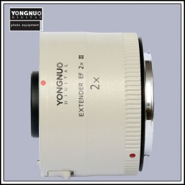 Yongnuo YN-2.0X III teleconverter clone for Canon EOS EF lenses 2