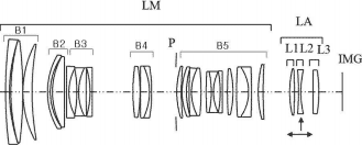 Canon EF-M lens adapter patent