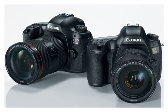 Canon EOS 5DS and EOS 5DS R cameras
