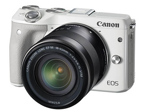 Canon EOS M3 mirrorless camera
