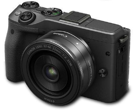 new pictures: canon eos m3 mirrorless camera in black