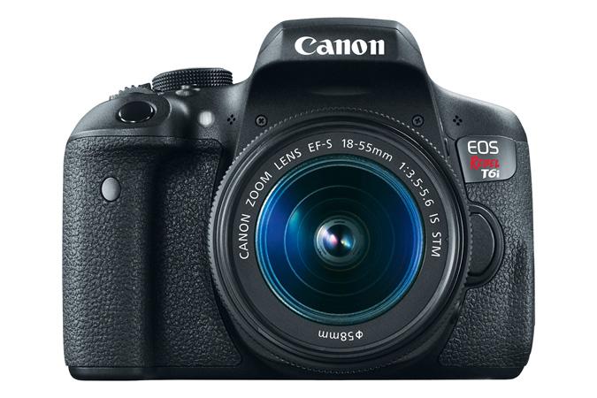canon t6i rebel eos lens 750d kit cameras ef 55mm nikon vs dslr d3300 comparison stm camera d5300 usa officially