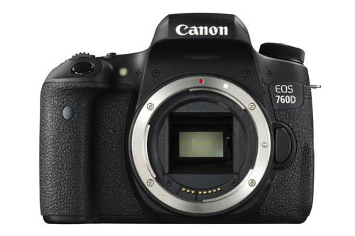 Canon the EOS 750D DSLR camera