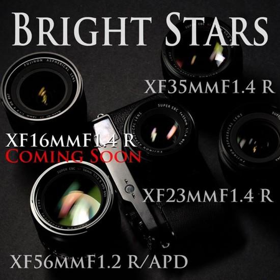 Fuji XF 16mm f:1.4 R lens