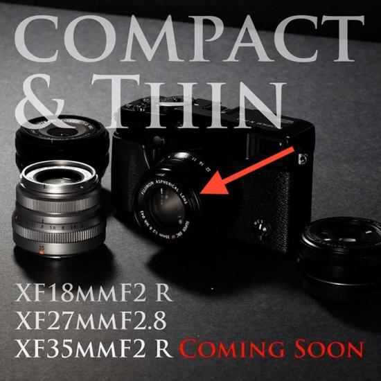 Fuji XF 35mm f:2 R WR ASPH lens