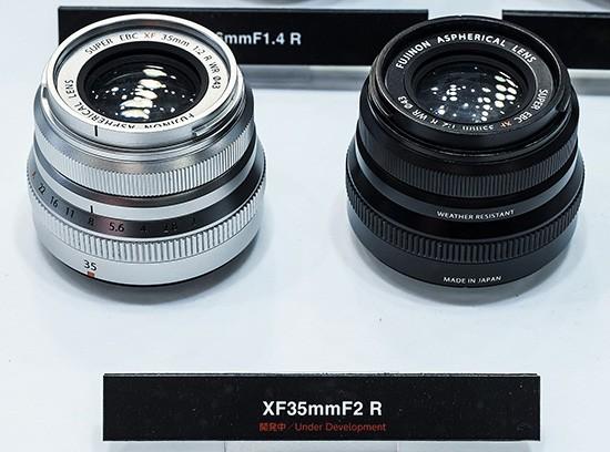 Fuji XF 35mm f/2 R lens