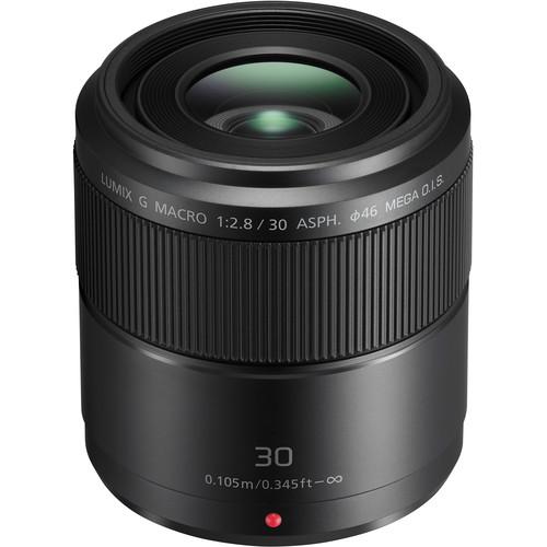 Panasonic LUMIX G MACRO 30mm f:2.8 ASPH. MEGA O.I.S. Lens
