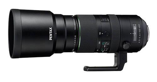 Pentax-D FA 150-450mm F4.5-5.6 lens