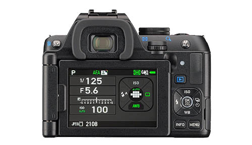 Pentax K-S2 camera back