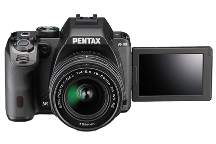 Pentax K-S2 camera black