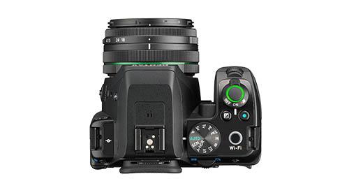 Pentax K-S2 camera top