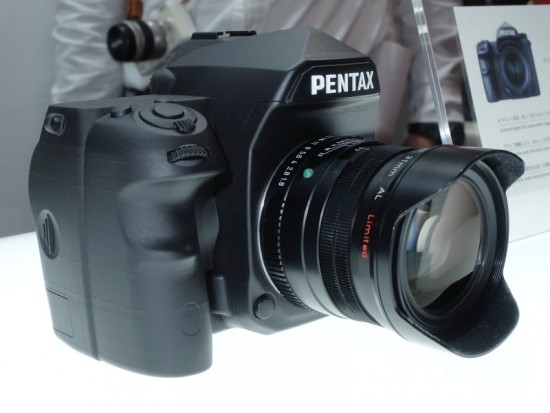 Pentax full frame K-mount DSLR camera 2